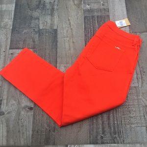 Lauren Ralph Lauren slim fit jeans orange 12